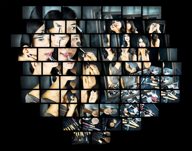 Beauty Mirror Montage Portfolio of KevinLJ © Kevin Landwer-Johan