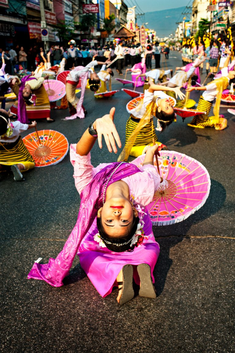 Portfolio of KevinLJ © Kevin Landwer-Johan Flower Parade Umbrella Dance