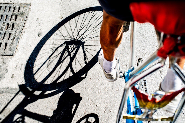 Portfolio of KevinLJ © Kevin Landwer-Johan Cycle Taxi Shadow
