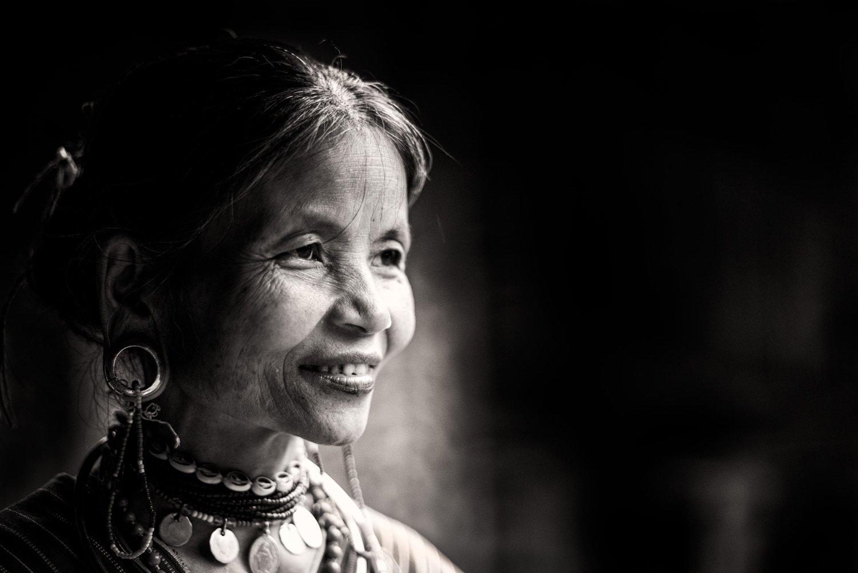Portfolio of KevinLJ © Kevin Landwer-Johan Kayaw Woman Portrait Thailand