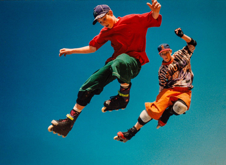 Portfolio of KevinLJ © Kevin Landwer-Johan Roller Blade Jump