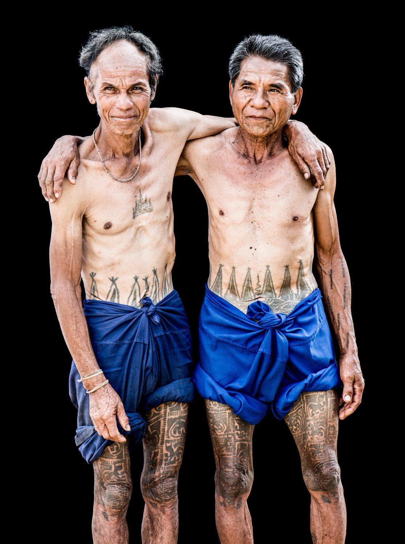 Portfolio of KevinLJ © Kevin Landwer-Johan Tattooed Karen Men Thailand