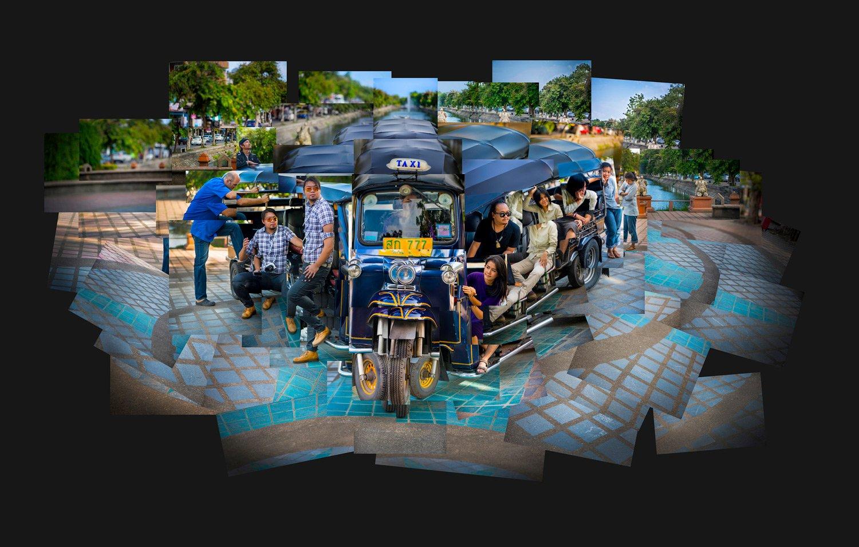 Tuktuk Montage Portfolio of KevinLJ © Kevin Landwer-Johan
