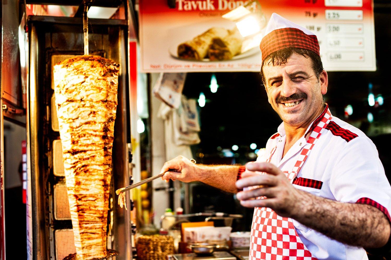 Portfolio of KevinLJ © Kevin Landwer-Johan Kebab Chef in Istanbul