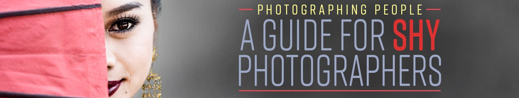 A Guide for shy photographers webpage banner